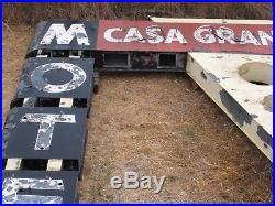 Vintage 1950's Casa Grande Motel Roadside Motor Court Neon Sign