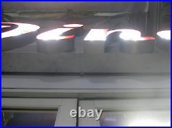 Vintage 1950's Restored Neon DINER sign Aluminum channel GORGEOUS Antique
