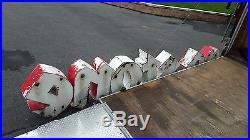 Vintage 1950s Firestone Neon Sign