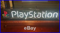 Vintage 1998 Original Neon Light Retail Store Playstation Sign Works Great