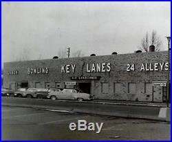 Vintage Antique 1950s Fifties Neon Key Sign
