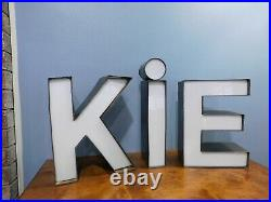 Vintage Antique Cookie Store Neon Letters Advertising Store Sign