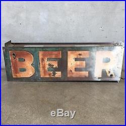 Vintage BEER Neon Sign (JN1EUK)