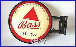 Vintage Bass Ale LIGHT UP Neon / LED Beer Sign HUGE 24 inch Sign NEW