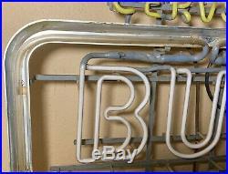 Vintage Bud Light Cerveza Everbrite Neon Beer Sign
