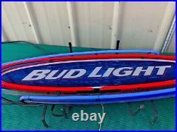 Vintage Bud Light Neon Beer Sign Anheuser Busch 36