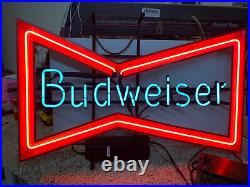Vintage Budweiser Neon Beer Sign. Rare! Good Condition. Free Shipping