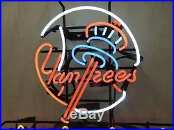 Vintage Budweiser New York Yankees Neon Sign Rare
