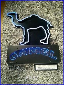 Vintage Camel Cigarettes Neon Light 33x24in