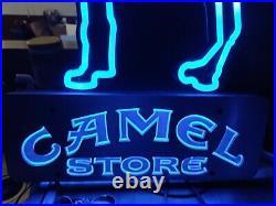 Vintage Camel Store Sign Neon Retro Very Nice