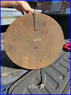 Vintage Century Tires Neon Clock Gas Oil Sign Firestone Light Lamp