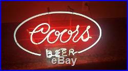 Vintage Coors Neon Beer Sign