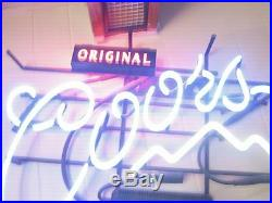 Vintage Coors Neon sign