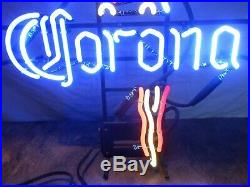 Vintage Corona Parrot Beer Neon Sign 20.5x25 Barton Beers WORKS 1C1