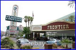 Vintage Frontier Hotel & Casino Las Vegas Neon Casino Marquee Sign