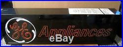 Vintage GE General Electric Appliances Dealer Beyond Neon Lighted Sign