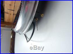 Vintage Harley Davidson Bar Shield Neon Spinner Clock