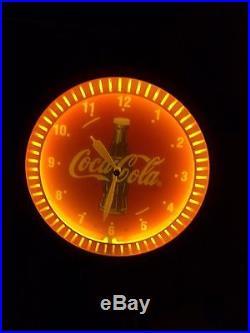 Vintage Image Time Inc. Coca Cola Neon Clock