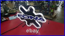 Vintage Kona Bicycle Dealer Neon Sign