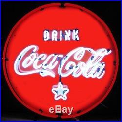 Vintage Look Drink'Coca Cola' Soda Wall Decor Neon Light Neon Sign 24x24