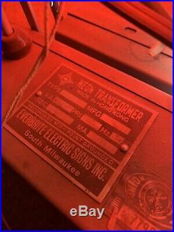 Vintage Marlboro Cigarettes Neon Sign 1997