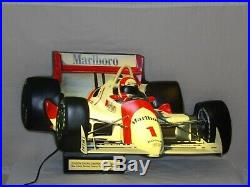 Vintage Marlboro SIGN IndyCar Light RARE Philip Morris PENSKE Indy Racing