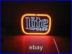 Vintage Miller Beer (Lite)Neon Sign, Circa 1980's