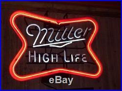 Vintage Miller High Life Neon Sign