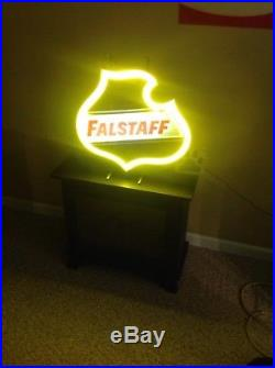 Vintage Neon Beer Falstaff beer neon sign