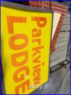 Vintage Neon Motel Sign