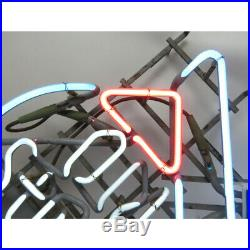 Vintage Old Style 42 Neon Guitar Sign