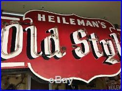 Vintage Original Old Style Beer Neon Sign