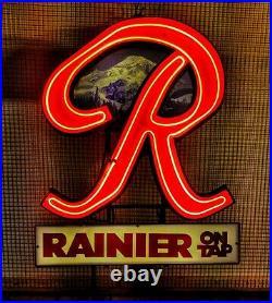Vintage Rainier Beer Neon Sign