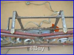 Vintage Rare BUDWEISER BEER Bow Tie NEON SIGN Bar Window Beer Sign Man Cave