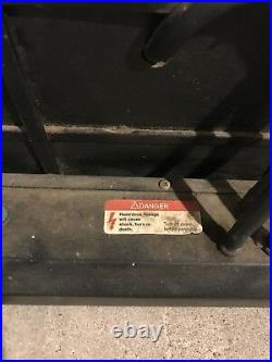 Vintage Retro NY LOTTERY Advertising Bodega Sign Circle Neon Sign Co Maspeth Ny