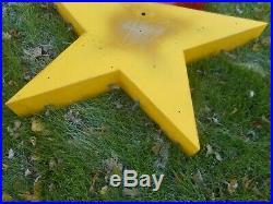 Vintage SHOOTING STAR Neon Advertising Store Display SPACE SIGN