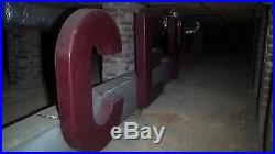 Vintage Sign, The Yancey Co. 50-60's Neon Illuminated Huge 3 Piece, Yancey Bros