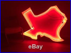 Vintage TEXAS STATE NEON SIGN single sided in great working condition