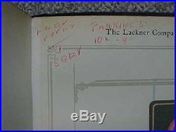 Vintage Trade Catalog The Lackner Co. Cincinnati Advertising Neon Signs