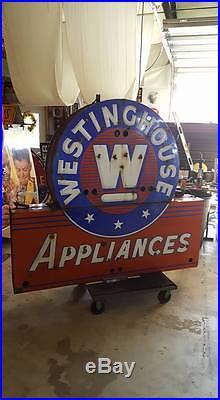 Vintage Westinghouse Appliances Neon Sign