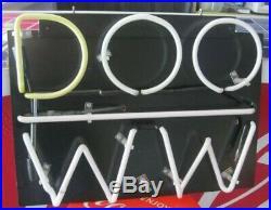 Vintage Wildwood NJ NEON DOO WW Lighted Sign Pickup In Philadelphia