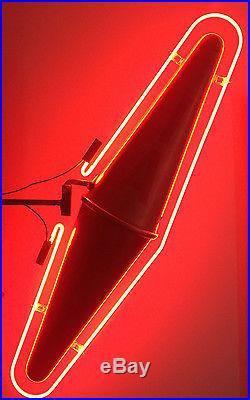 Carotte vintage neon sign - Enseigne tabac carotte ...