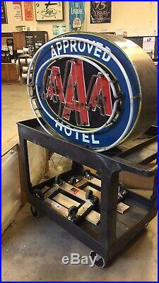 Vintage neon hand painted Sign