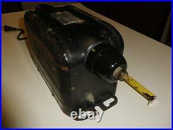 Vtg 1930 Ge Neon Sign Luminous Tube Transformer 15kv Art-deco Tesla Frankenstein