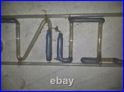Vtg Original FURNITURE NEON SIGN Works! Tubes ONLY No Transformer OLD Dusty 47