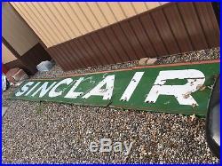 WOW! Vintage ORIGINAL 1924 SINCLAIR NEON Station PORCELAIN Sign Gas Oil HUGE OLD