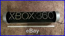 XBOX 360 Original Launch (2005) 3ft Neon Sign Green White Gaming Vtg Classic